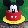 Jamie - Mickey Mouse Birthday Cake