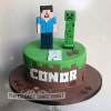Conor - Minecraft Birthday Cake