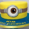 Kim - Minion Birthday Cake