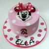 Ella - Minnie Mouse Birthday Cake