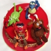 Muppets Birthday Cake