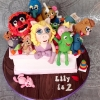 Muppets . . .  and some other guys. - Birthday Cake