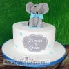 Oliver - Elephant First Birthday Cake