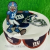 Alan - NY Giants Birthday Cake