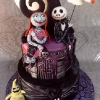 Caitlin - Nightmare Before Christmas Cake
