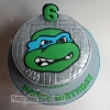 Daniel - Ninja Turtle Birthday Cake