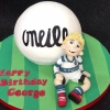 George -  O\'Neills Football Birthday Cake