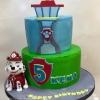 Kena - Marshall Paw Patrol Birthday Cake