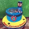 Nathan - Chase Paw Patrol Birthday Cake