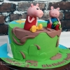 Daniel - Peppa Pig Birthday Cake