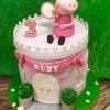 Ruby - Peppa Pig Birthday Cake