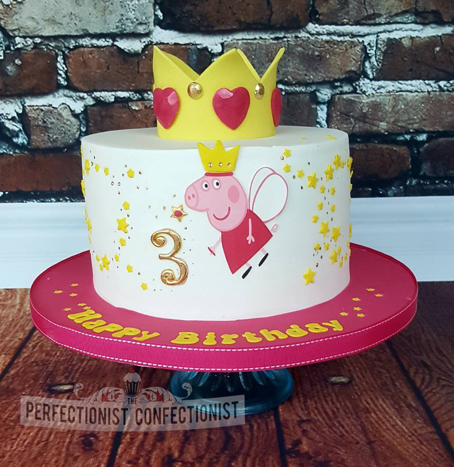 Peppa Pig - Fairy Birthday Cake