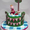 Orla - Peppa Pig Birthday Cake