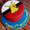 Hugo - Pikachu Pokemon Birthday Cake