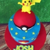 Josh - Pokemon Birthday Cake