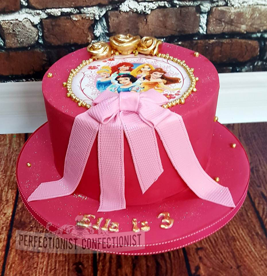 Ella - Pink Princess Birthday Cake