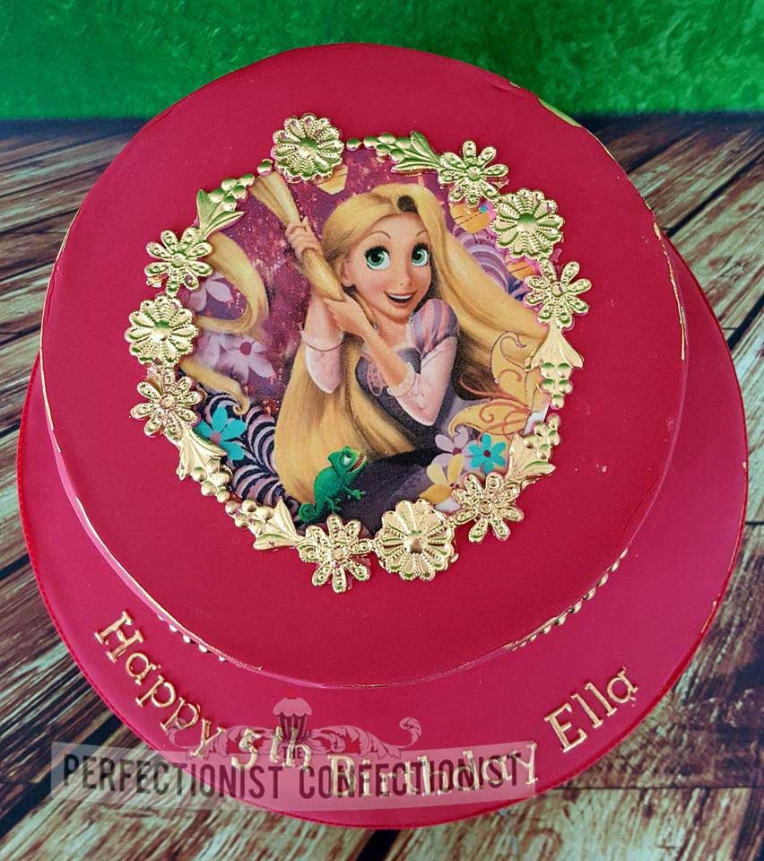 Ella - Princesses Birthday Cake