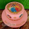 Julie - Princesses Birthday Cake