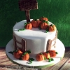Adam - Pumpkin Patch Birthday Cake