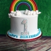 Jack - Rainbow Birthday Cake