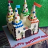 Max - Retro Castle Birthday Cake