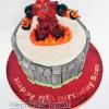 Sam - Hothead Skylander Birthday Cake