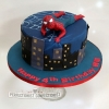 Will - Spiderman Birthday Cake