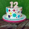 Sally - Polka Dot Birthday Cake
