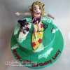 Lucy - Surfing Birthday Cake