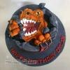 Dylan - T-Rex Birthday Cake