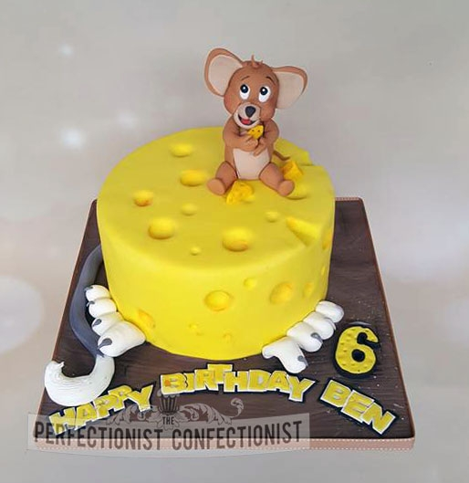 Ben - Tom and Jerry Birthday Cake