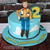 Zach - Toy Story Woody Cake