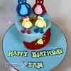 TwirleyWoos Birthday Cake