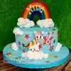Nive - Unicorn Rainbow Birthday Cake