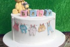 Mary - Babyshower Cake