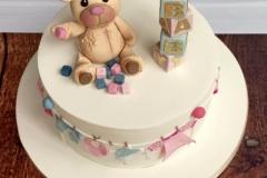 Valerie - Babyshower Cake / christening cake