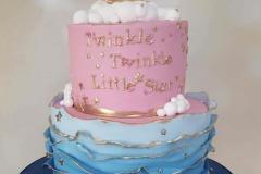 Lihn - Twinkle Twinkle Little Star Baby Shower Cake
