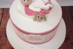 Rebecca - Baby shower cake