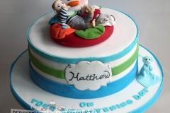 Mathew - Christening Cake