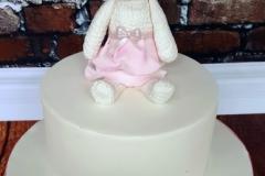 Cleo - Bunny Christening Cake