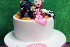 Ava - Christening Cake