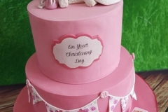 Rebecca - Christening Cake