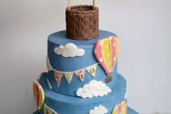 Siun - Oh The Places You Will Go Christening Cake