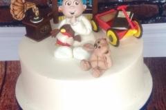 Robin - Boy\'s Christening Cake