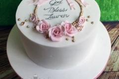 Lauren - Christening Cake / Naming Day Cake