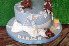 Daragh - Christening Cake