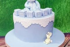 Emilio - Teddy Bear Christening Cake