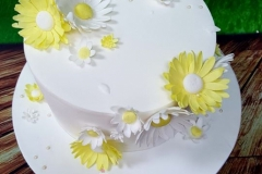 Nora - Daisies Christening Cake