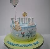 Daniel - Winnie the Pooh Christening Cake