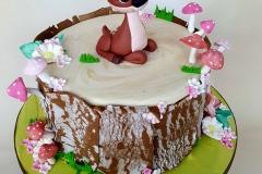 Fiadh - Deer Christening Cake